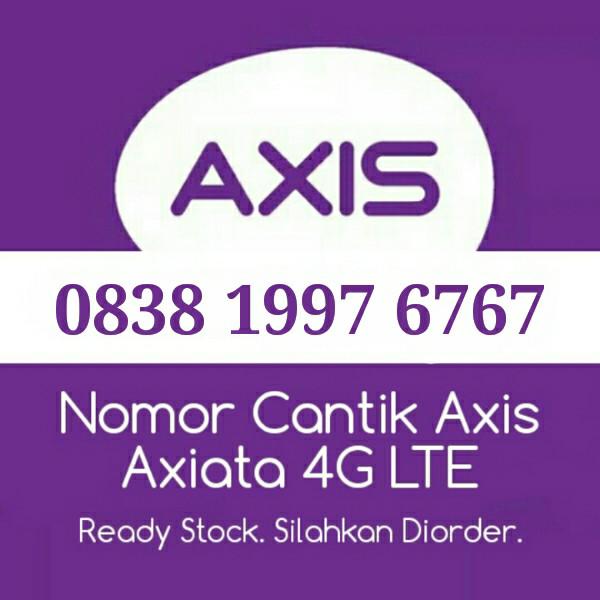Nomor Cantik Axis 0838 1997 6767 Seri Ekor ABAB Angka Seri Tahun Lahir