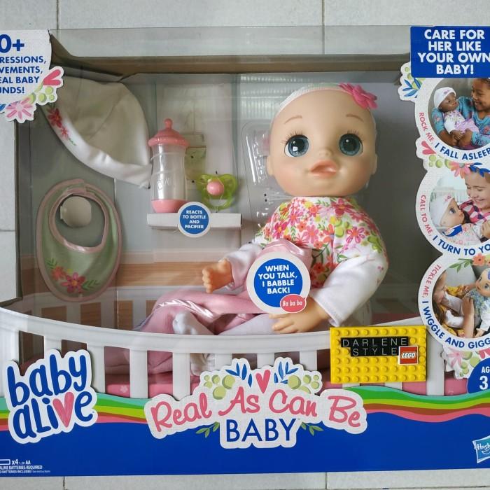 harga Baby alive real as can be baby original hasbro Tokopedia.com