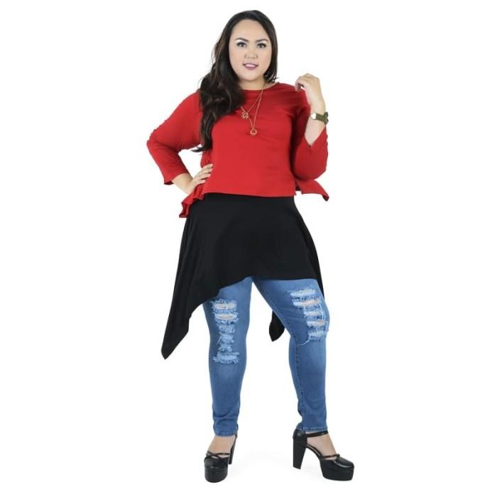 harga My size dress - merah 3l Tokopedia.com