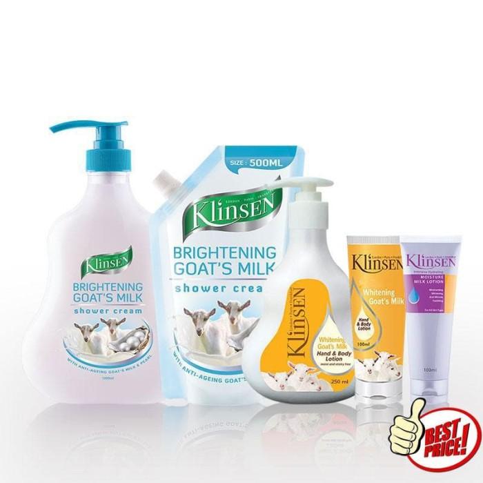 Klinsen : Shower & Lotion Goat's ...