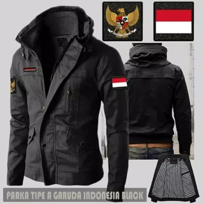 88+ Gambar Jaket Pria Parka Garuda Indonesia Paling Keren