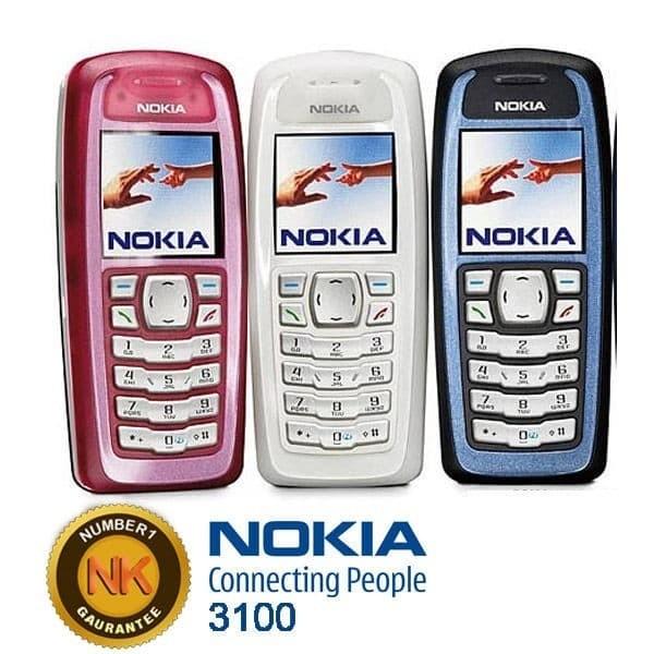 harga New nokia/hp 3100 jadul refubished bergaransi handphone baru. origi Tokopedia.com