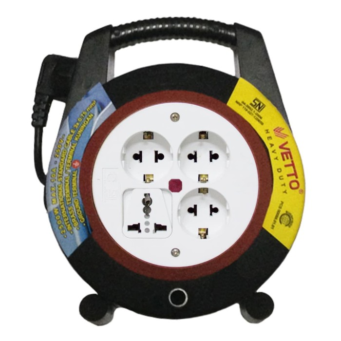 vetto box kabel victoria boss 7m lampu turbo sni - v8816 7lp+tb - hijau