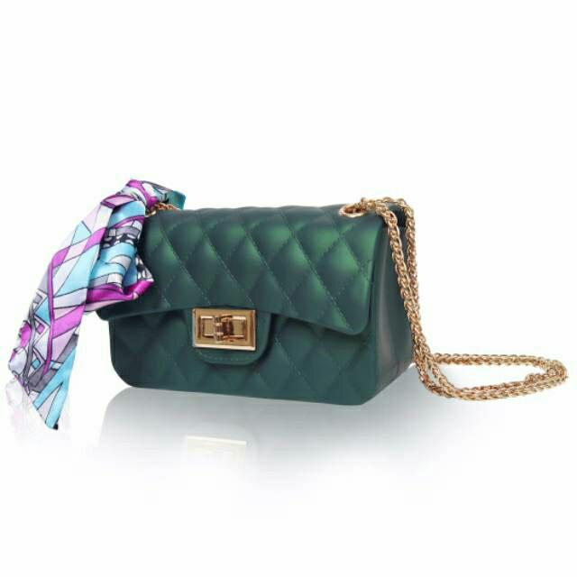 Termurah TAS JELLY Matte Chanel CLASSIC Mini kotak 18 cm Import . 5d03e06907