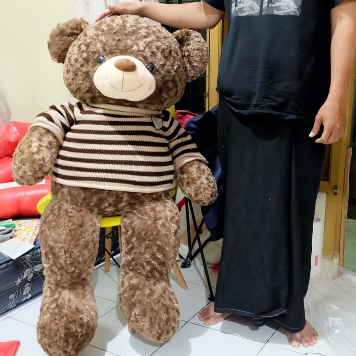 harga Boneka teddy bear giant jumbo besar impor sweater teddy 12 Tokopedia.com