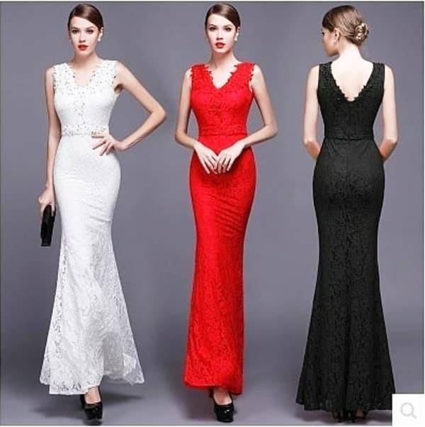 harga Jes-ps1503 longdress brokat maxi dress lace party import-gaun pesta Tokopedia.com