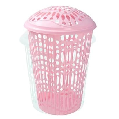 harga Keranjang pakaian baju laundry basket plastik green leaf 1522 otilla Tokopedia.com