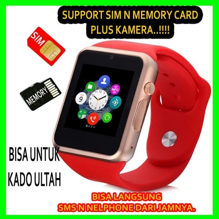 SMARTWATCH SMART WATCH Bluetooth HP Handphone Jam Tangan WANITA Anak