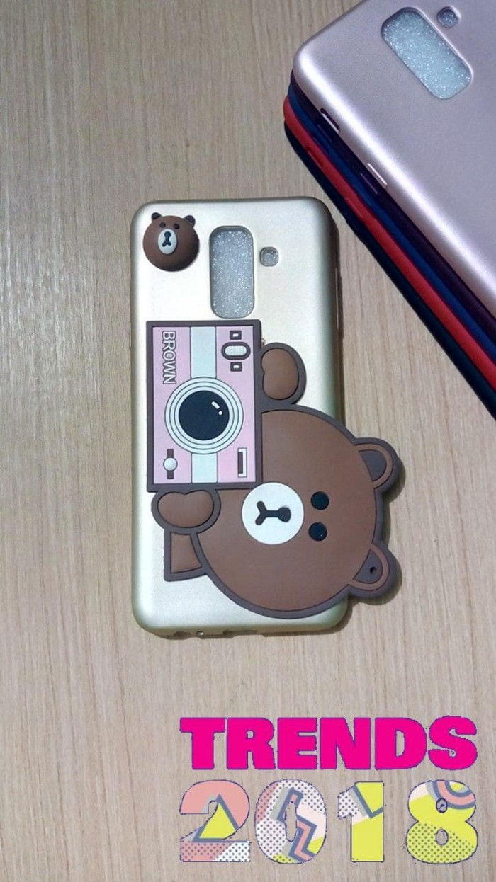 Jual Case Xiaomi Redmi 4X Gambar 3D Fotografi Silikon Anti Oil Gold Kota Surabaya Nduty Store