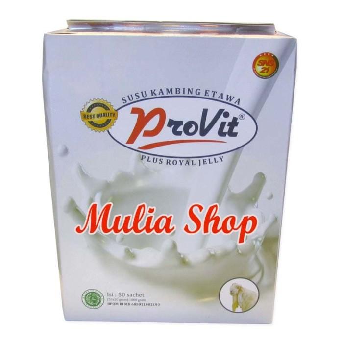 harga Provit susu kambing etawa plus royal jelly bpom Tokopedia.com
