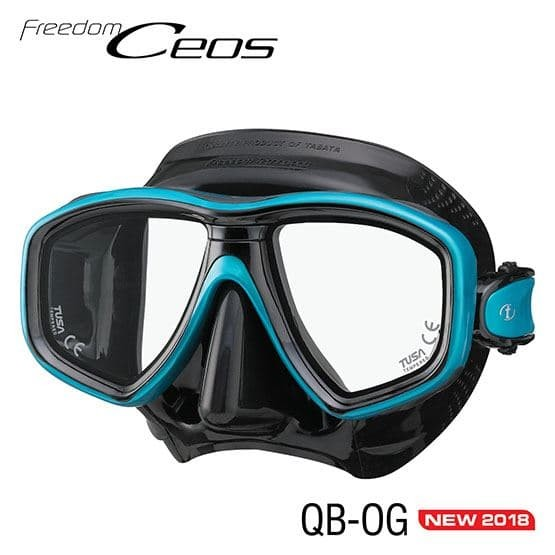 Foto Produk Tusa Mask Fredom Ceos SQB dari Kristal Klear Dive