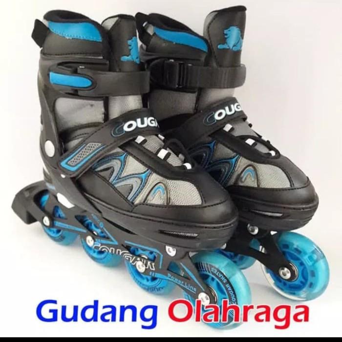 Jual sepatu roda inline skate merk cougar cek harga di PriceArea.com 8edc225729