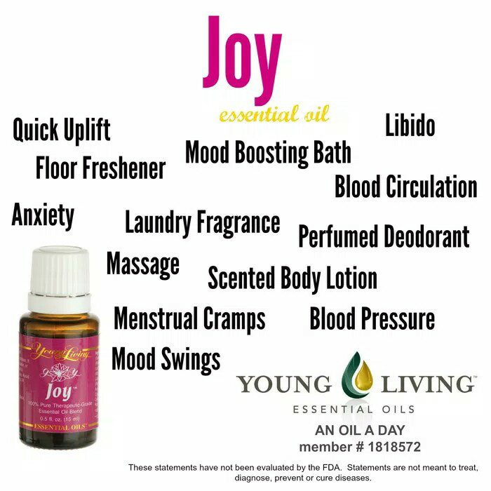 Young Living Essential Oil | Joy Essential Oil 5ml