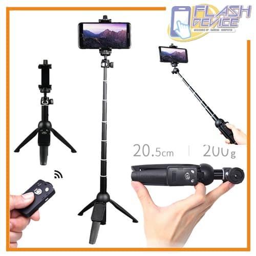 harga Tripod selfie stick yunteng yt-9928 with phone holder Tokopedia.com