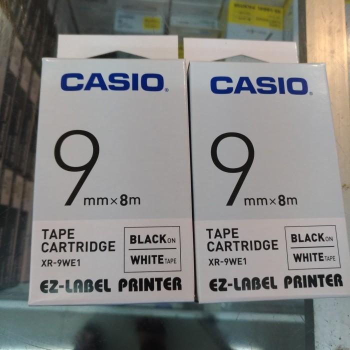 harga Ez-label printer casio 9mm black ink white Tokopedia.com
