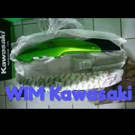 Jual Cover Body Belakang Hijau Metalik Ninja Rr Old Original Kawasaki Jakarta Barat Spart Kawasaki Tokopedia