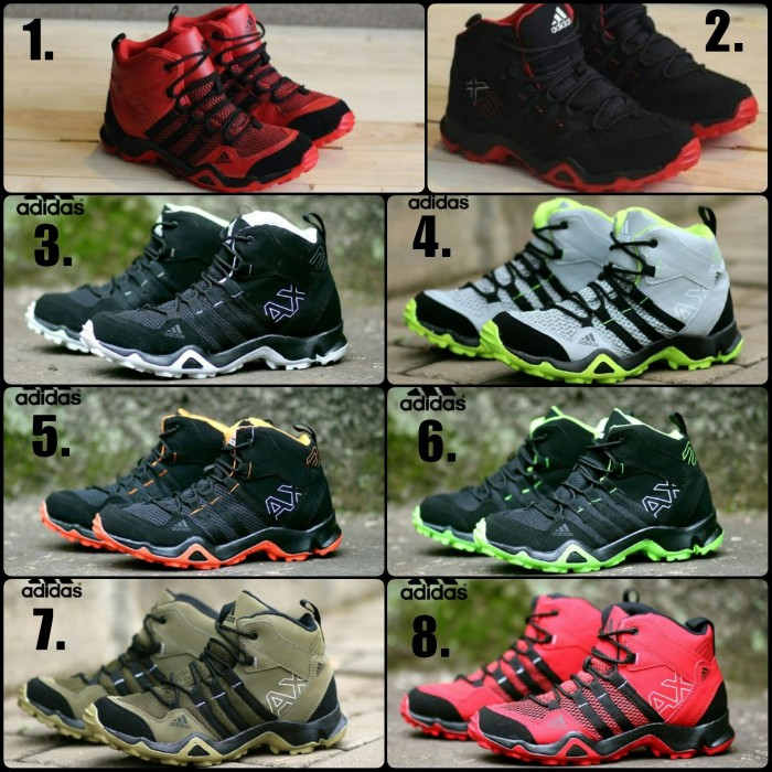 Sepatu adidas ax2 boot sneakers sport pria grade orie 5 varian