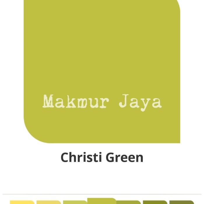 harga Dulux pentalite christi green tinting cat tembok interior Tokopedia.com