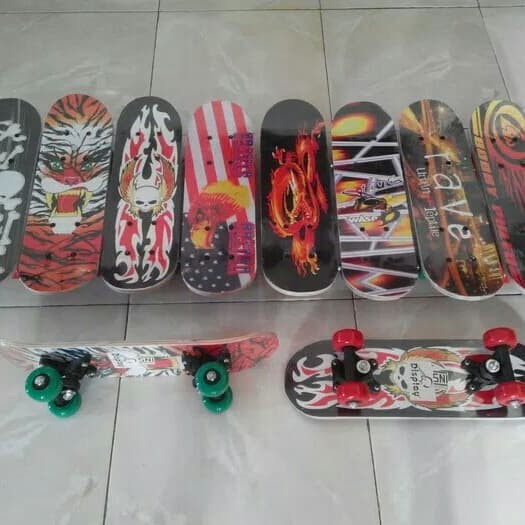 ... harga Skate board anak - papan seluncur mini - skateboard Tokopedia.com c89cce3bd9