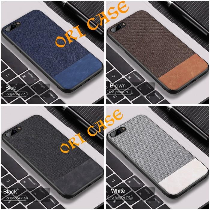 harga Iphone 6 6s 7 8 plus cafele luxury fabric kulit kain leather case Tokopedia.com