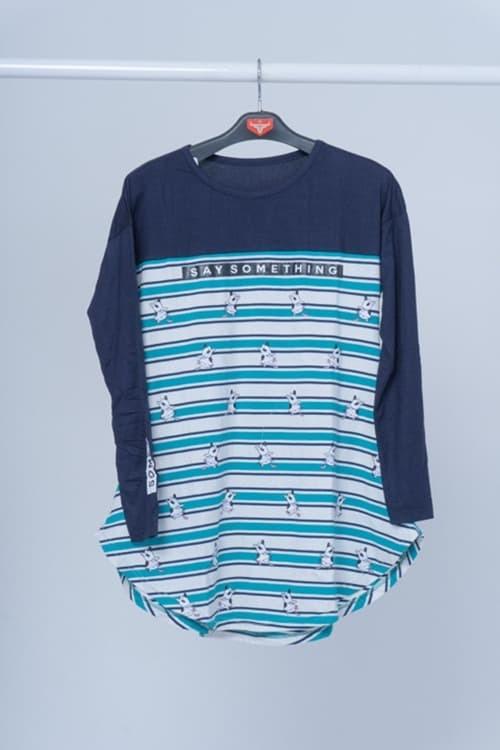 harga Seyes 4558 tumblr tee t-shirt kaos cewe cotton spandek premium wanita - navy Tokopedia.com