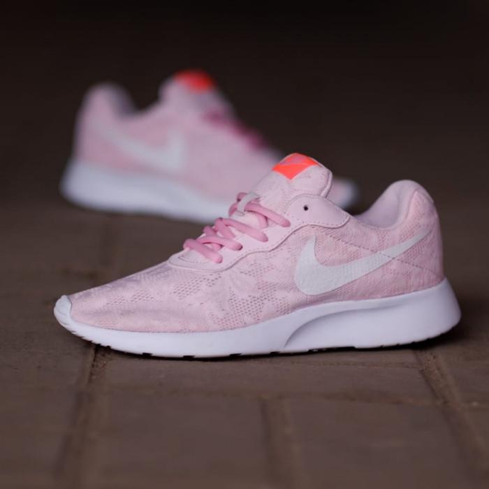 c1775be4f Jual Sepatu Nike ORIGINAL Tanjun Soft Pink Floral - Suteki Step ...