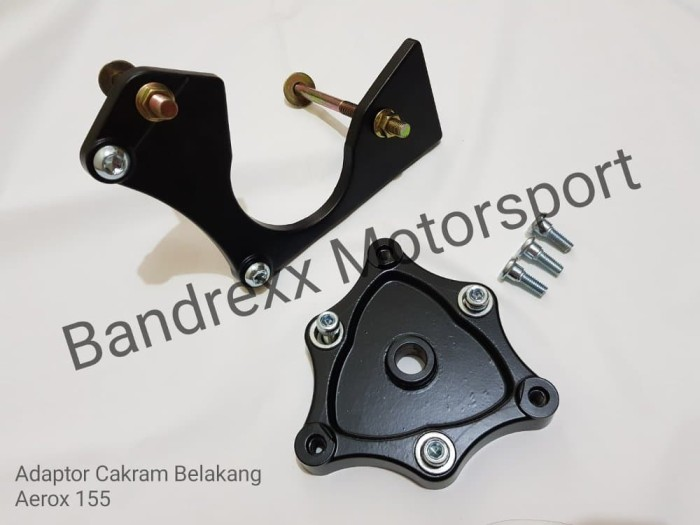 Adaptor cakram belakang plus bracket kaliper for Yamaha Aerox Limited