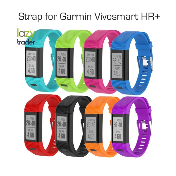 harga Strap band garmin vivosmart hr + plus -  tali jam sport watch Tokopedia.com