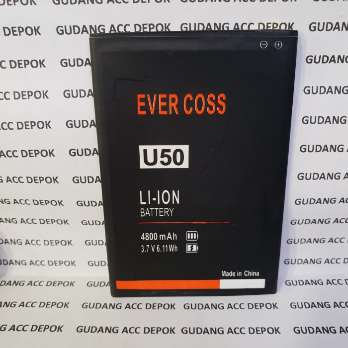 harga Baterai battery batre batt evercross cross u50 winner y 4g u 50 Tokopedia.com