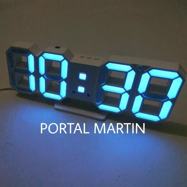 Review Jam Digital LED Biru Tipe 6609 (Dinding dan Meja) di Jakarta ... 18d358f6e1