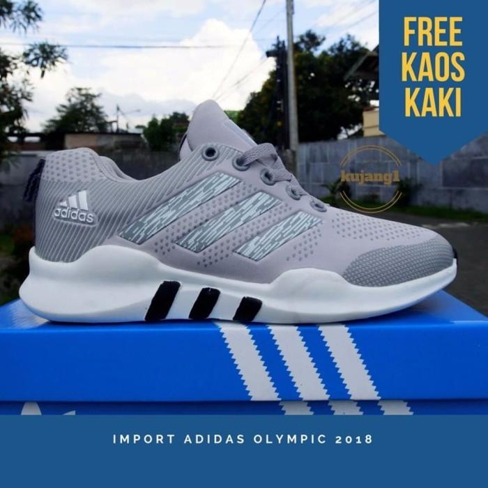 Jual LIMITED EDITION Terlaris Sepatu Pria Adidas Kets Olympic 2018 ... a46819d246