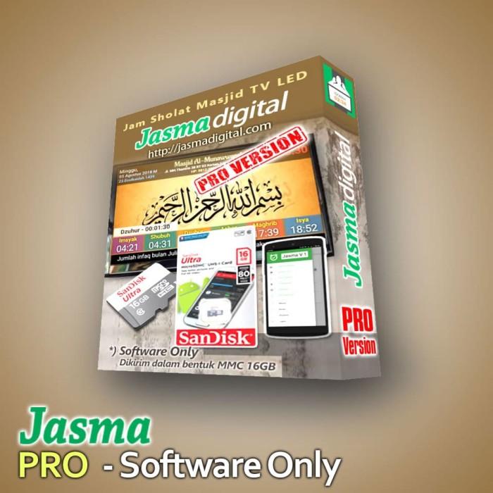 Foto Produk Software Jam sholat masjid digital menggunakan TV LED Versi Pro dari Jasma Digital