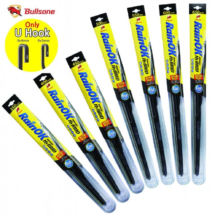 harga Bullsone hybrid wiper 350 mm (14 inch) Tokopedia.com