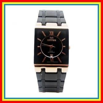 New Rilis 0818 Mirage Jam Tangan Pria 7908M HitamRosegold pH