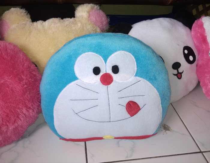 Jual Boneka Doraemon Boneka Kepala Doraemon Bantal Nama Kab Bogor Iqbalvalhallashops Tokopedia