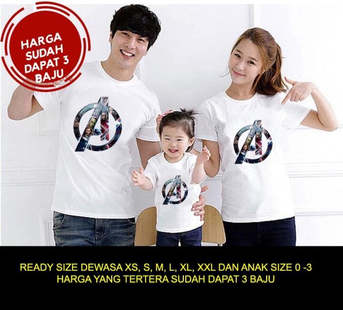 GBC Baju Couple Keluarga / Family Kapel / Kaos Sama DN004 Doraemon