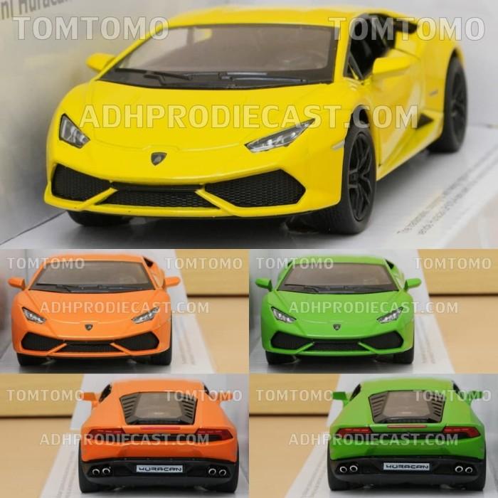 Jual Diecast Lamborghini Huracan Miniatur Mobil Mobilan Sport Mainan