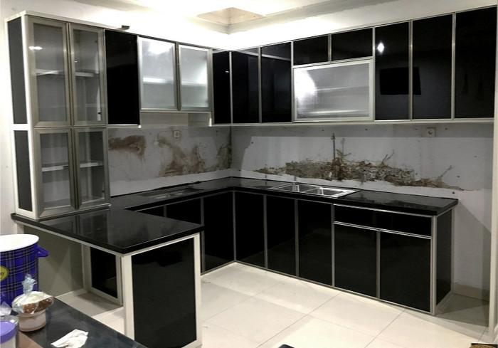 Jual Kitchen Set Aluminium Anti Rayap Kualitas Premium Dki Jakarta Abadi Jaya Aluminium Tokopedia