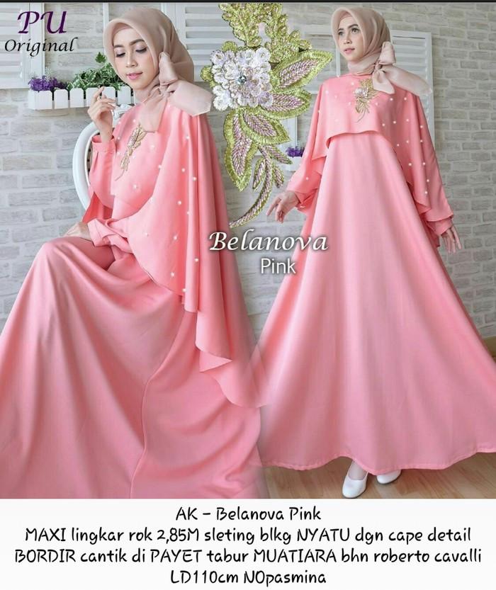 Jual Gamis Cape Dress Syari Baju Muslim Seragam Pesta Pernikahan Wedding Xl Kota Tangerang Boutique Preloved Tokopedia