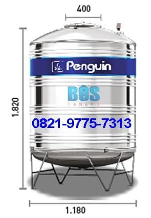 harga Tangki air toren air tandon air penguin stainless steel tbsk-1500 Tokopedia.com