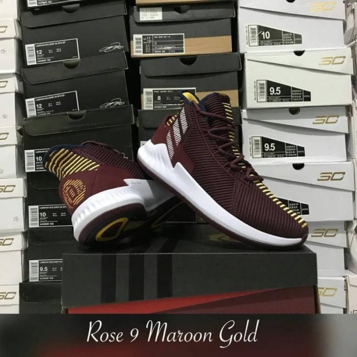 fashion styles new high look for Jual SEPATU BASKET ADIDAS ROSE 9 MAROON GOLD REPLIKA BOX ORIGINAL - Kota  Batam - Serba Basket   Tokopedia