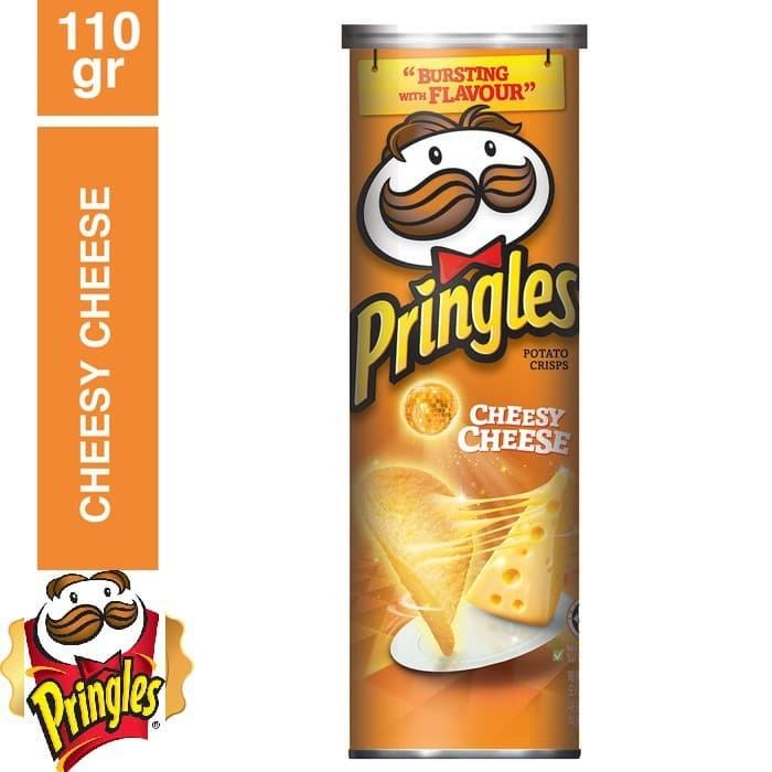 KiozOrenz 110gr Pringles Original Potato Chips Keripik Kentang
