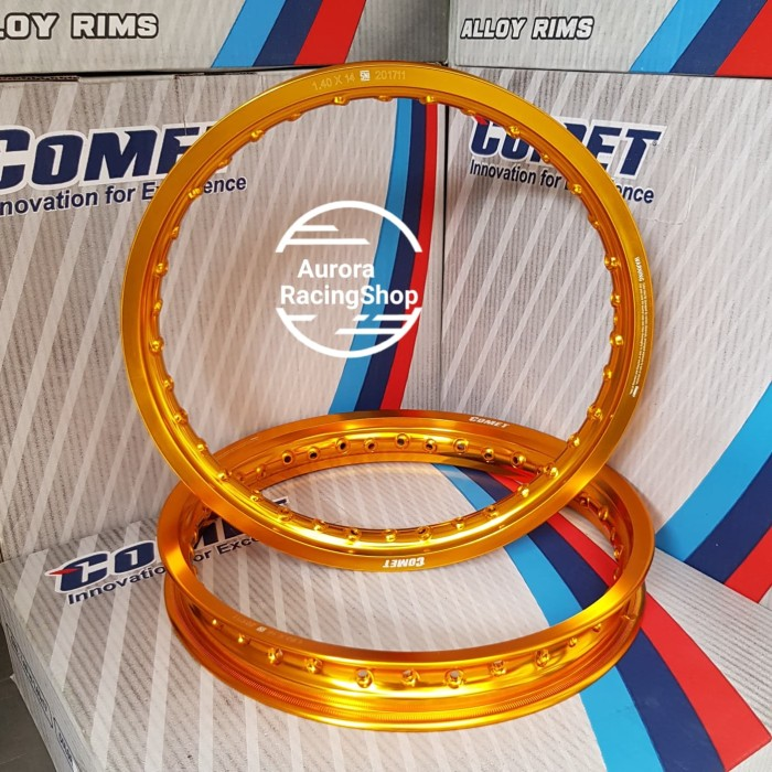 harga Velg comet w shape set( 140x14& 160x14) warna gold Tokopedia.com
