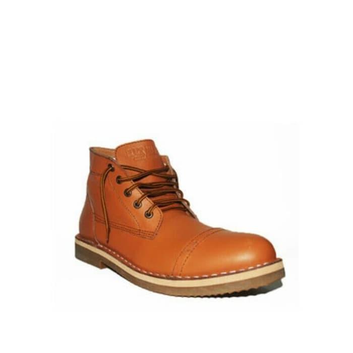 T2105 Sepatu boot casual pria kulit asli BM ZARA BOOT d6ea7c79e2