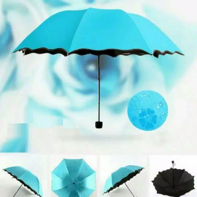 Payung lipat 3d magic. irc 050 - payung lipat anti uv sinar matahari m
