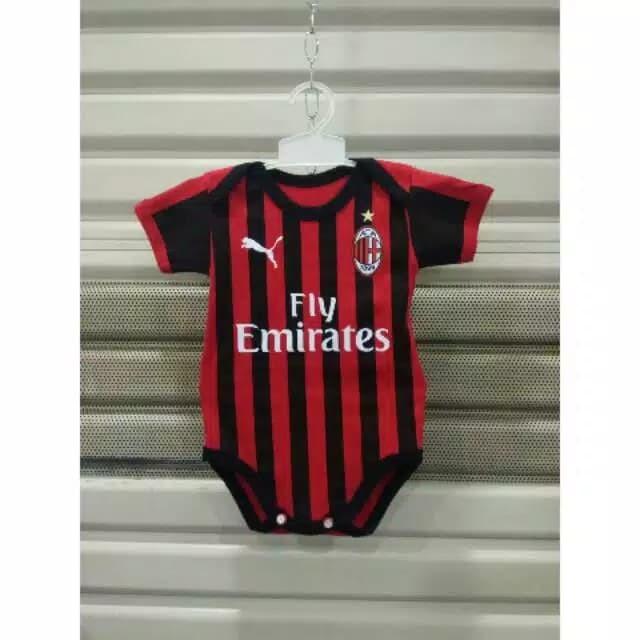 harga Jersey milan ac milan home jumper baby baju bola bayi top quality Tokopedia.com
