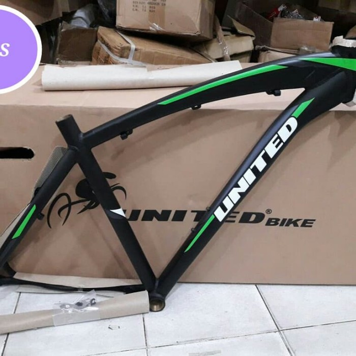 harga Frame united dominate 079 mtb 26 green l frame 26 united dominate 079 Tokopedia.com