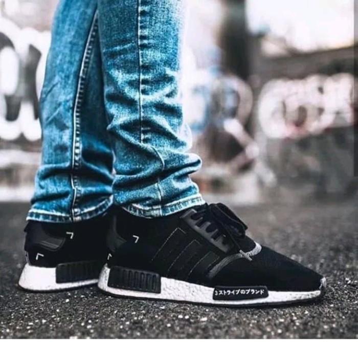055dde523 Jual Sepatu adidas nmd japan black Diskon - putrashop1