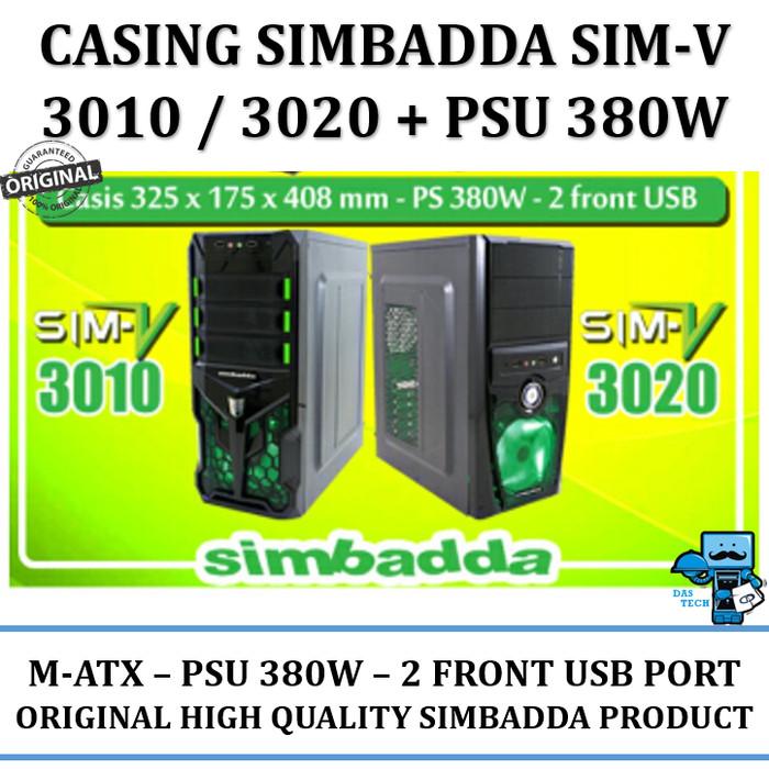 harga Casing pc simbadda cst 3010/3020n - 380w power supply 24 pin Tokopedia.com