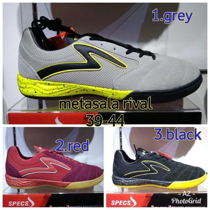 Jual Sepatu Futsal Specs Metasala Rival Original Bnib Abu Abu